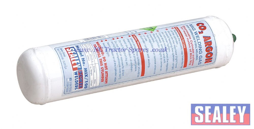 Gas Cylinder Disposable Carbon Dioxide/Argon 60ltr
